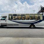 Chevy C5500 34 passenger charter shuttle coach bus for sale - Diesel 7