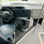 Ford E350 12 passenger charter shuttle coach bus for sale - Gas 14