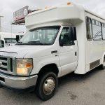 Ford E350 12 passenger charter shuttle coach bus for sale - Gas 6