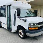 Chevy C3500 8 passenger charter shuttle coach bus for sale - Gas 1