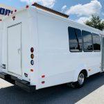 Ford E-350 14 passenger charter shuttle coach bus for sale - Gas 3