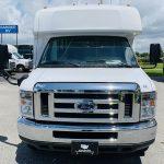 Ford E-350 14 passenger charter shuttle coach bus for sale - Gas 10