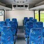 Ford E-350 14 passenger charter shuttle coach bus for sale - Gas 12
