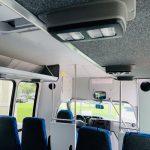 Ford E-350 14 passenger charter shuttle coach bus for sale - Gas 15