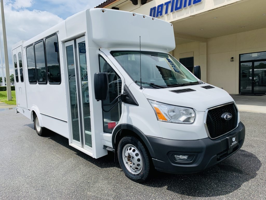 Ford 12 passenger charter shuttle coach bus for sale - Gas