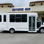 Ford 12 passenger charter shuttle coach bus for sale - Gas 2