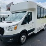 Ford 12 passenger charter shuttle coach bus for sale - Gas 8