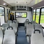 Ford 12 passenger charter shuttle coach bus for sale - Gas 10