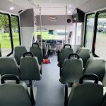 Ford 12 passenger charter shuttle coach bus for sale - Gas 14