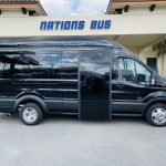 Ford 13 passenger charter shuttle coach bus for sale - Gas 2