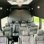 Ford 13 passenger charter shuttle coach bus for sale - Gas 13