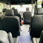 Ford 13 passenger charter shuttle coach bus for sale - Gas 14