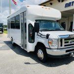Ford E-350 14 passenger charter shuttle coach bus for sale - Gas 1