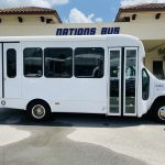 Ford E-350 14 passenger charter shuttle coach bus for sale - Gas 2