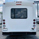 Ford E-350 14 passenger charter shuttle coach bus for sale - Gas 4