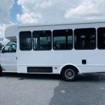 Ford E-350 14 passenger charter shuttle coach bus for sale - Gas 6