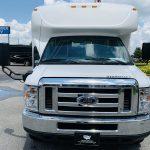 Ford E-350 14 passenger charter shuttle coach bus for sale - Gas 8
