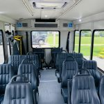 Ford E-350 14 passenger charter shuttle coach bus for sale - Gas 11