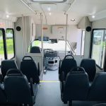 Ford E-350 14 passenger charter shuttle coach bus for sale - Gas 14