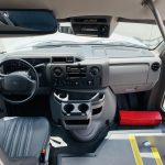 Ford E-350 14 passenger charter shuttle coach bus for sale - Gas 16