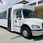 Freightliner 34 passenger charter shuttle coach bus for sale - Diesel 1