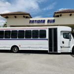 Freightliner 34 passenger charter shuttle coach bus for sale - Diesel 2