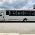 Freightliner 34 passenger charter shuttle coach bus for sale - Diesel 6
