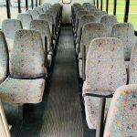 Freightliner 34 passenger charter shuttle coach bus for sale - Diesel 9