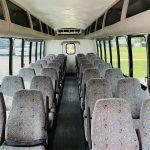 Freightliner 34 passenger charter shuttle coach bus for sale - Diesel 10