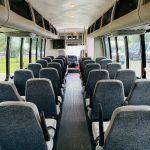 Freightliner 34 passenger charter shuttle coach bus for sale - Diesel 12
