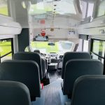 Ford 14 passenger charter shuttle coach bus for sale - Gas 12