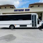 Ford 29 passenger charter shuttle coach bus for sale - Diesel 2