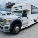 Ford 29 passenger charter shuttle coach bus for sale - Diesel 7