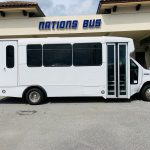 Ford 16 passenger charter shuttle coach bus for sale - Gas 2