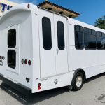 Ford 16 passenger charter shuttle coach bus for sale - Gas 3