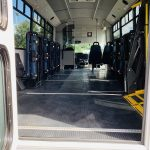 Ford 16 passenger charter shuttle coach bus for sale - Gas 5
