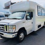 Ford 16 passenger charter shuttle coach bus for sale - Gas 8