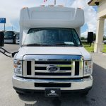 Ford 16 passenger charter shuttle coach bus for sale - Gas 9