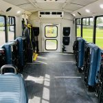 Ford 16 passenger charter shuttle coach bus for sale - Gas 10