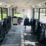 Ford 16 passenger charter shuttle coach bus for sale - Gas 13