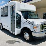 Ford E-350 6 passenger charter shuttle coach bus for sale - Gas 1