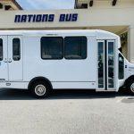 Ford E-350 6 passenger charter shuttle coach bus for sale - Gas 2