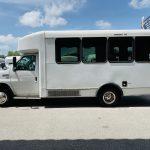 Ford E-350 6 passenger charter shuttle coach bus for sale - Gas 8