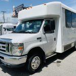 Ford E-350 6 passenger charter shuttle coach bus for sale - Gas 9