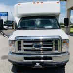 Ford E-350 6 passenger charter shuttle coach bus for sale - Gas 10