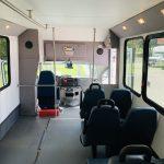 Ford E-350 6 passenger charter shuttle coach bus for sale - Gas 15