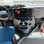Ford E-350 6 passenger charter shuttle coach bus for sale - Gas 16
