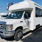 Ford E-450 25 passenger charter shuttle coach bus for sale - Gas 8