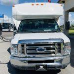 Ford E-450 25 passenger charter shuttle coach bus for sale - Gas 9