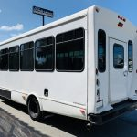 Ford E-450 25 passenger charter shuttle coach bus for sale - Gas 6